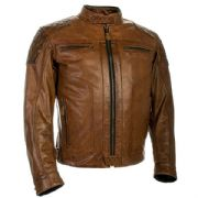 Richa Detroit Leather Jacket Cognac